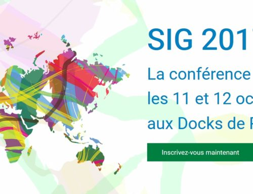 Proxigis et la CCVG à la conférence ESRI SIG 2017